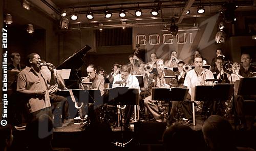 Jamie Davis & the Bob Sands Big Band