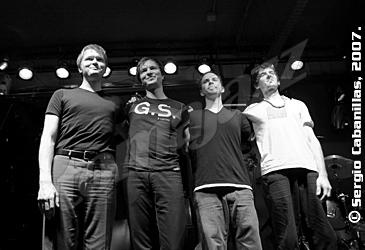 Kristjan Randalu Quartet. Fotografía: Sergio Cabanillas