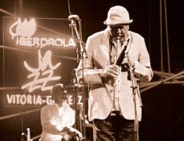 Charles Lloyd. Foto: Arturo Mora Rioja