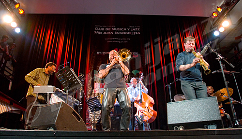 Dave Holland Quintet. Foto: Sergio Cabanillas