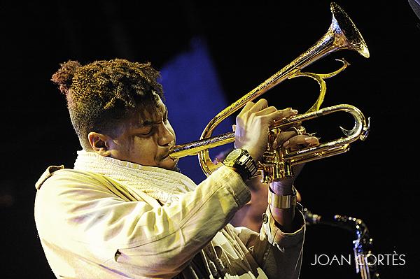 Christian Scott (44 Voll-Damm Festival Internacional de Jazz de Barcelona, Luz de Gas, Barcelona, 25-XI-2012)