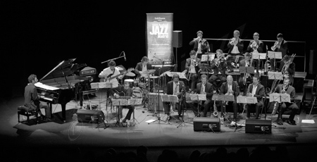Big Band de Canarias (Teatro Conde Duque, Madrid, 2-XII-2012)