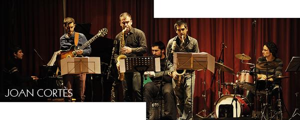 Joan Vidal Sextet (37è Cicle de Jazz al Casino, Granollers, Barcelona, 7-XII-2012)