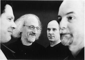 De izquierda a derecha: Bruce Ackley, Larry Ochs, Jon Raskin, Steve Adams  © Heike Liss