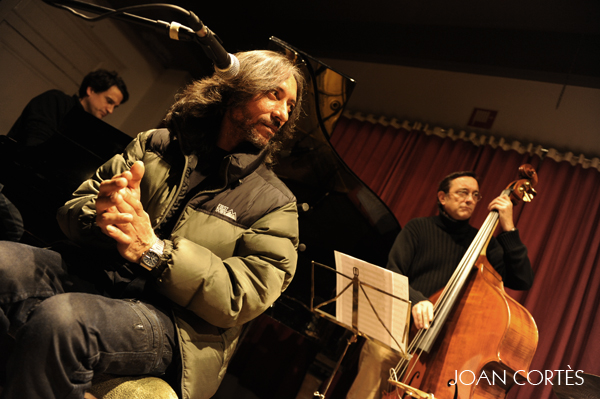 Marc Miralta New York Flamenco Reunion (37è Cicle de Jazz al Casino, El Casino de Granollers, Barcelona, 14-XII-2012)