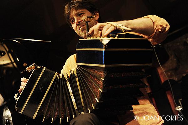 The New Tango Sound (Jamboree, Barcelona, 20-XII-2012)
