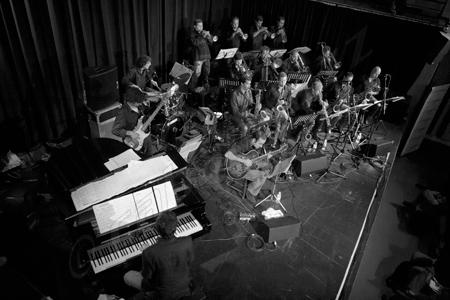 Big Band de Canarias, photo by Sergio Cabanillas