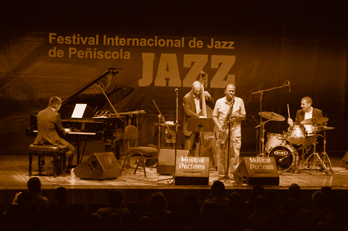 Benny Golson Quartet.