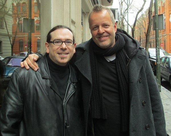 Arturo Mora con Wolfgang Haffner