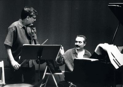 Mark Feldman y Lluis Vidal