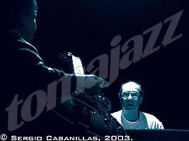 Dan Wall y Santiago de la Muela por Sergio Cabanillas