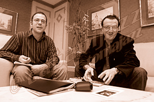 Pachi Tapiz y Ramón López © Sergio Cabanillas, 2007