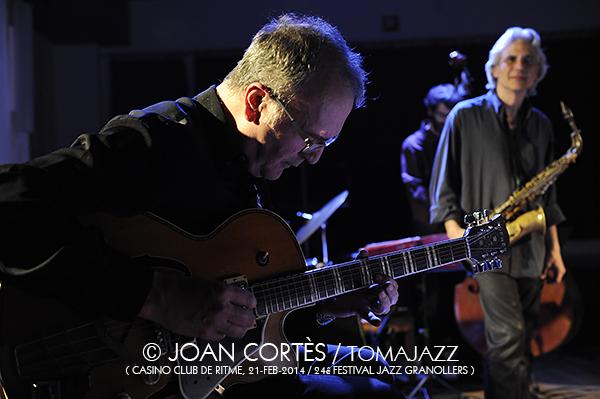 06_JAZZGRANOLLERS ENSEMBLE_Joan Cortes_21feb2014_Casino Club de Ritme_24Festival Jazz Granollers_Granollers