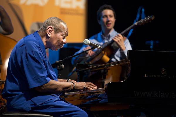 Freddy Cole Quartet (XVII Festival Internacional de Jazz de San Javier, Murcia. 2014-07-26)