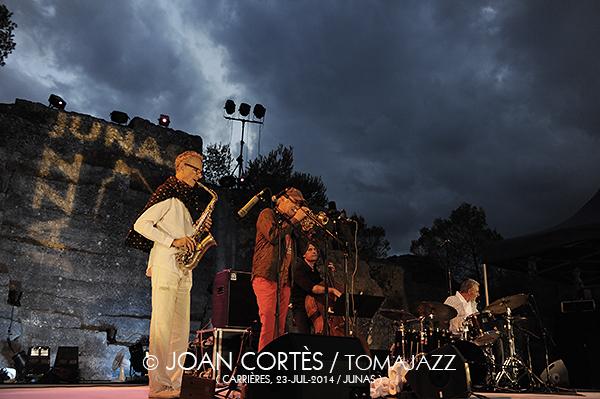 F14_GOUIRAN&MARRE 4t (©Joan Cortès)_23jul14_Jazz à Junas