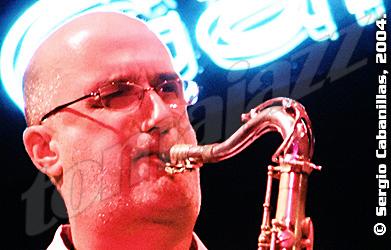 Michael Brecker, Galapajazz 2004 © Sergio Cabanillas, 2004