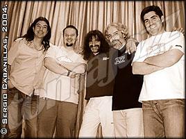 Juan Camacho Quinteto © Sergio Cabanillas, 2004