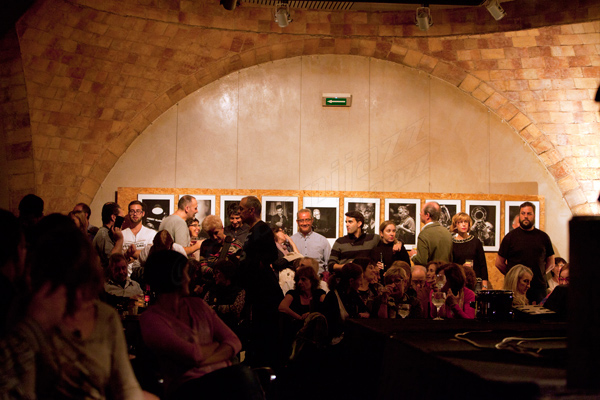El público de Jazz Tardor disfruta de la exposición © Sergio Cabanillas, 2014