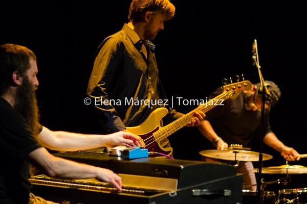 150307_Plymouth-Jamie Saft-Joe Morris-Mary Halvorson-Chris Lightcap-Gerald Cleaver-Matadero-Huesca_0239