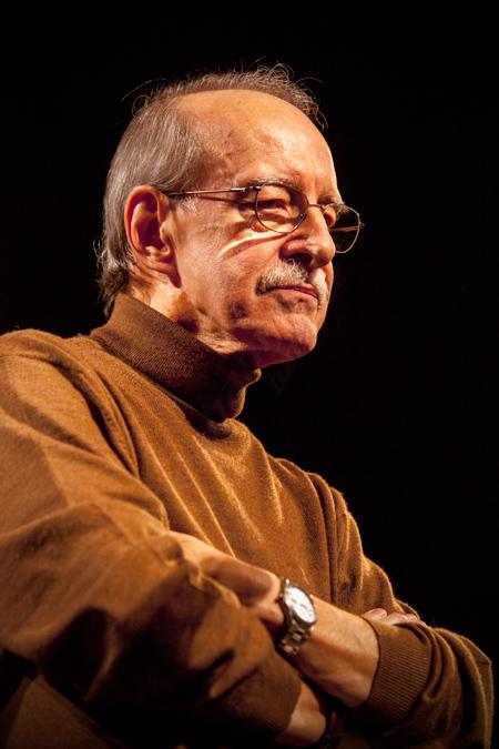 """Juan Claudio Cifuentes """"Cifu"""" Emisión 40 Aniversario de """"Jazz Porque Sí"""" C.M.U. San Juan Evangelista, 04/11/2011 © Sergio Cabanillas, 2011"""