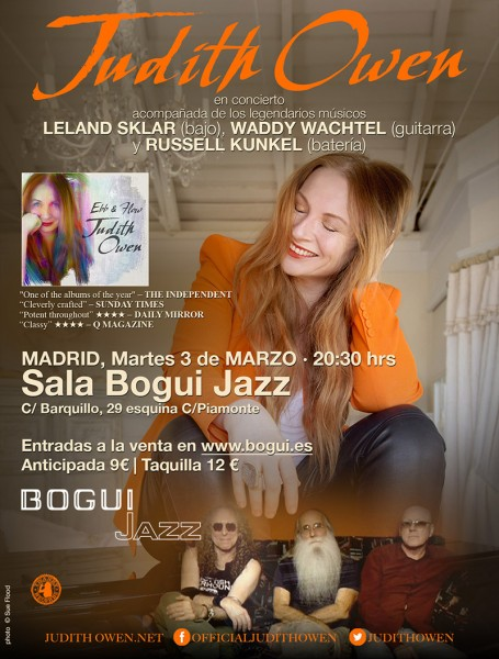 Judith Owen en Bogui Jazz