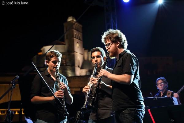 Jove Big Band - Vicent Ribas - Ismael Gallego - Arturo Pueyo   © José Luis Luna Rocafort