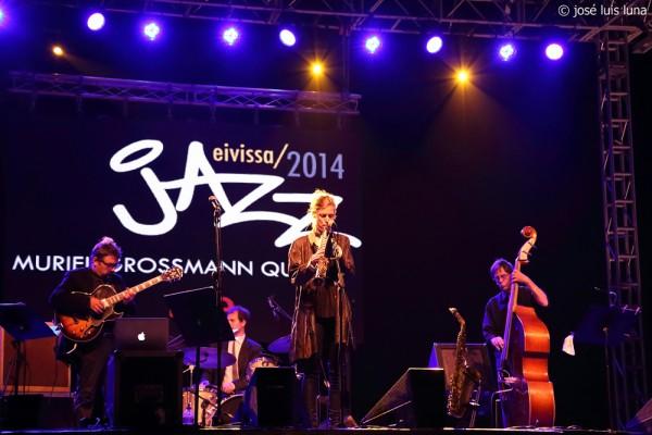 Muriel Grossmann Quartet   © José Luis Luna Rocafort