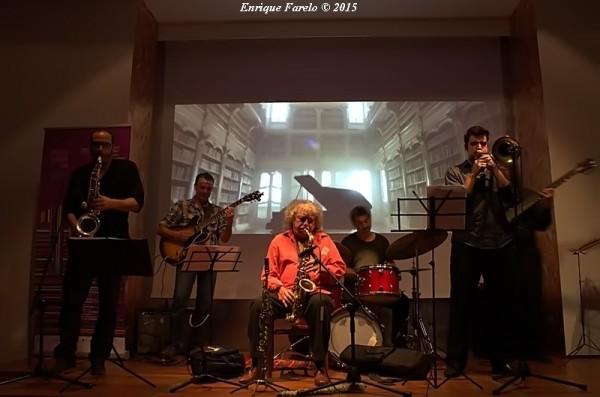 """Marula Sextet (XVIII  Festival """"Forma y Poesía en el Jazz"""", Cagliari. Espacio Ronda, Madrid. 2015-05-08)"""