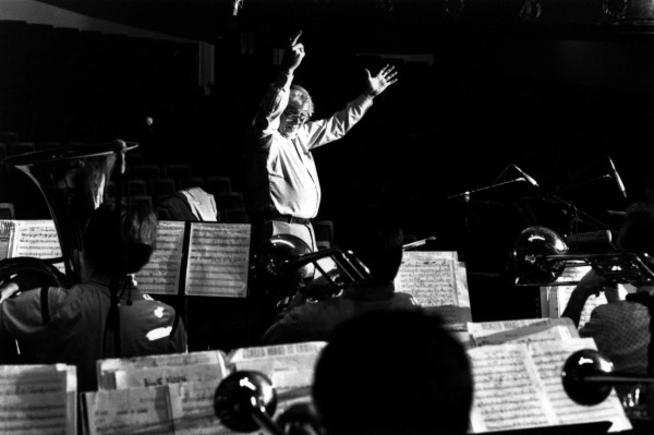 Gunther Schuller Conducts - Fall 1990 Credit: Eric Rasmussen