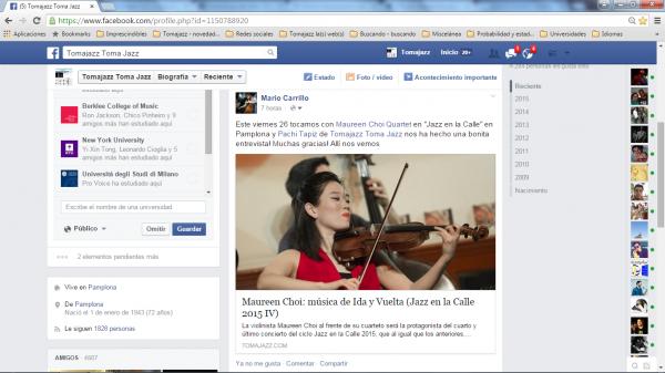 Mario Carrillo sobre entrevista Maureen Choi en Facebook