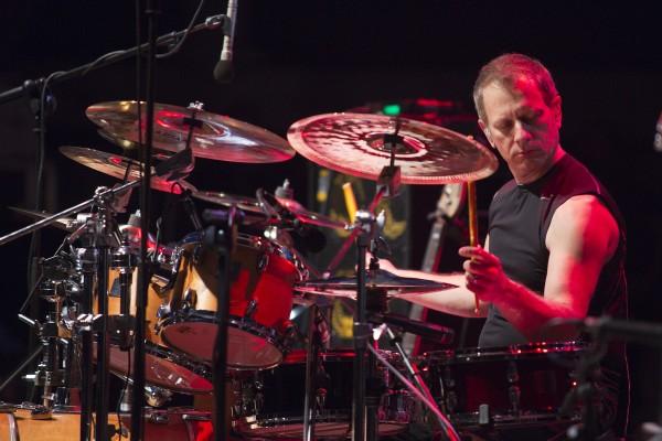 Dave Weckl. Concierto de CMD & The Nomads. 3 de julio de 2015. XVIII Festival Internacional de Jazz de San Javier