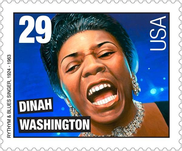 Dinah Washington sello