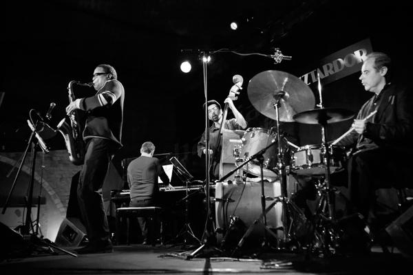 Jean Toussaint Quartet © Sergio Cabanillas, 2015