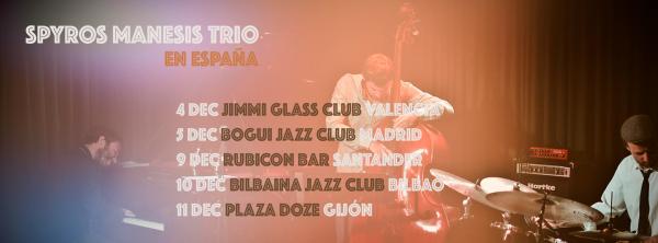 Spyros Manesis Trio Dec 2015