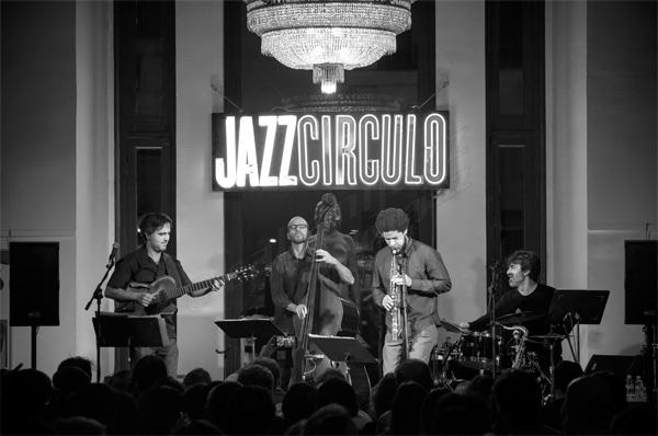 Hugo Fernández Quartet © Sergio Cabanillas, 2016