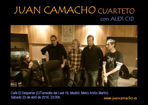Juan Camacho Cuarteto_ElDespertar_20160423