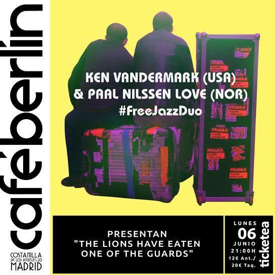 Vandermark - Paal Nilssen-Love_Cafe Berlin_2016-06-06