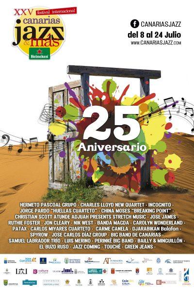 XXV Canarias Jazz y Más 2016