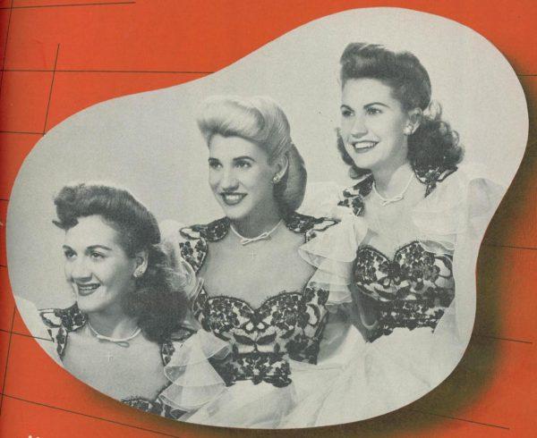 Benny Goodman (IV) – The Andrews Sisters. La Odisea de la Música Afroamericana (059) [Podcast]