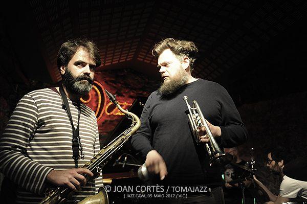 INSTANTZZ: Agustí Fernández Liquid Quintet (Jazz Cava, 19è Festival de Jazz, Vic. 2017-05-05)